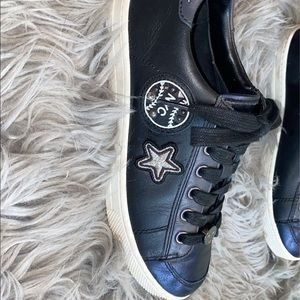 Coach leather sneakers